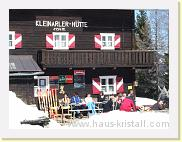 Kleinarler Hütte - April 207